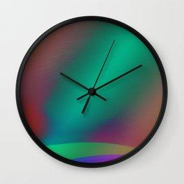 A Softer Blend Wall Clock