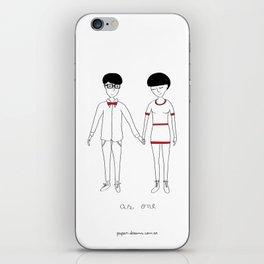 As One iPhone Skin