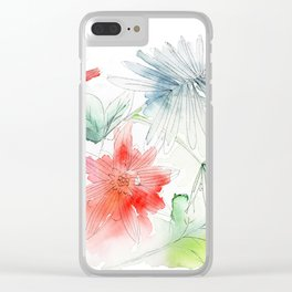 My flowers garden Clear iPhone Case