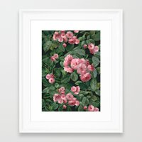amelie Framed Art Prints featuring Amelie by Marta Li