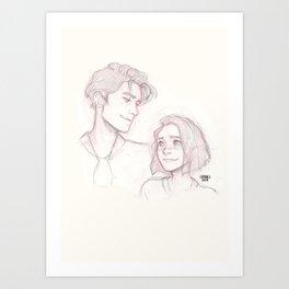 Cress + Thorne Art Print