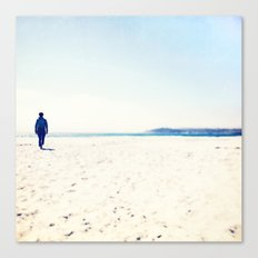 Beach & Blue Canvas Print