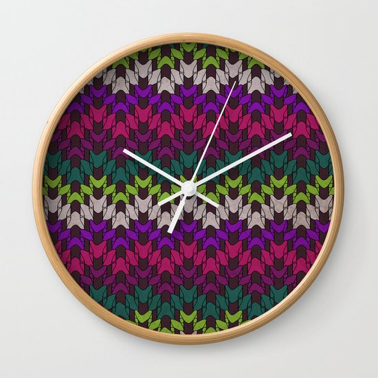 Mummy's Sweater Wall Clock