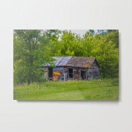 Textures, Ruso, North Dakota Metal Print
