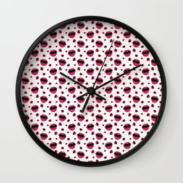 Mouthy Wall Clock