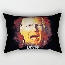 Yippee Ki-Yay - John McClane [DIE HARD] Rectangular Pillow