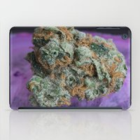 medical iPad Cases featuring Jenny's Kush Medical Weed by BudProducts.us