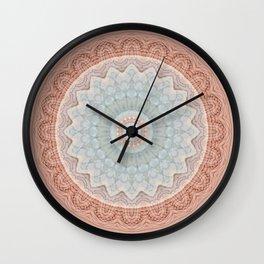 Mandala welfare Wall Clock