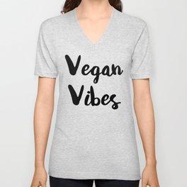 Vegan Vibes Unisex V-Neck