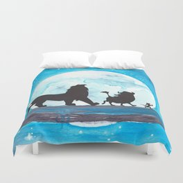 The Lion King Stencil Duvet Cover