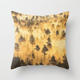 Torronsuo National Park Finland Throw Pillow