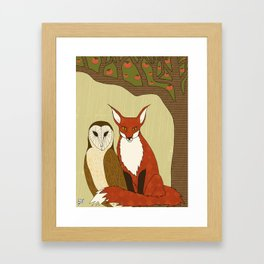 The Impossible Sum Framed Art Print