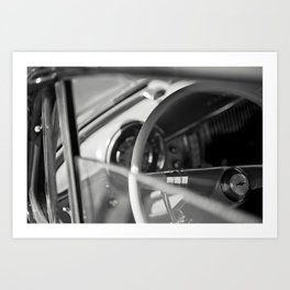 Car Cockpit 09 Art Print