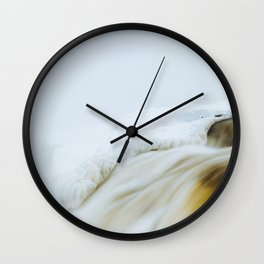 Muskrat Falls in Winter  Wall Clock