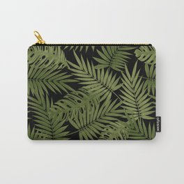 Frond of You - Black Carry-All Pouch