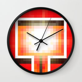 Red Light District Wall Clock