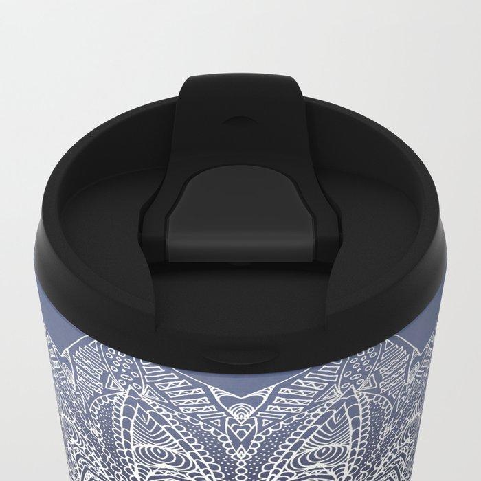 INDIGO DREAMS Metal Travel Mug
