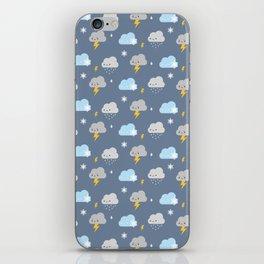 Kawaii Stormy Weather iPhone Skin