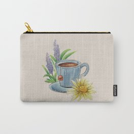 Spring Tea Time Carry-All Pouch