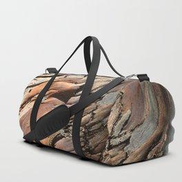 Eucalyptus tree bark texture Duffle Bag
