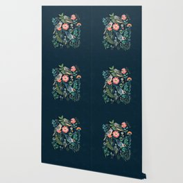 Birds Garden Wallpaper