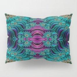 Aqua Swirl 3 Pillow Sham