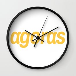 Agoras cryptocurrency Wall Clock