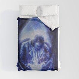 Angel in Blue Comforters
