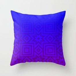 Twilight Tribal Throw Pillow