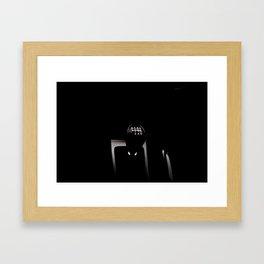 Gear shifter Framed Art Print