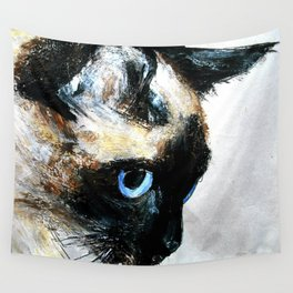 Siamese Cat Wall Tapestry