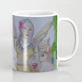 Fairy and Bunny Coffee Mug