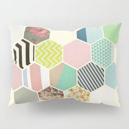 Florals and Stripes Pillow Sham