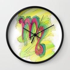 Virgo Flow Wall Clock
