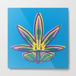 Super Weed Metal Print
