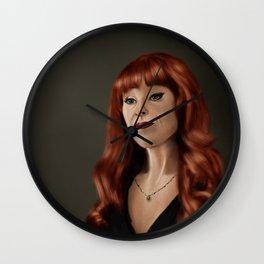 Rowena (Supernatural) Wall Clock