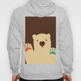 Polar bear paws Hoody