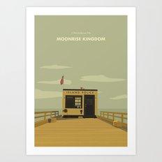 Moonrise Kingdom Island Police Art Print