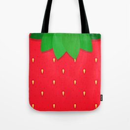 Strawberry strawberries summer fruit pattern Tote Bag