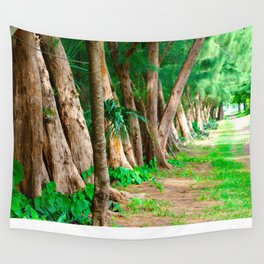 #TROPICAL PARC - MIAMI USA Wall Tapestry