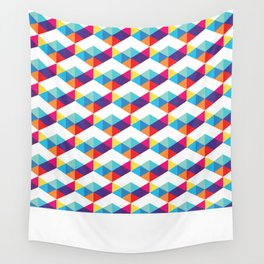 modern rainbow party Wall Tapestry