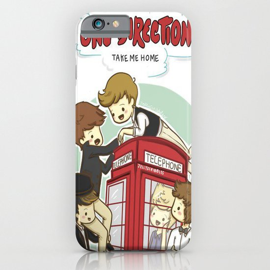 Take Me Home Cartoon One Direction iPhone & iPod Case
