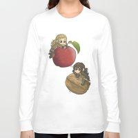 kili Long Sleeve T-shirts featuring Apple&Walnut_Fili&Kili by AlyTheKitten