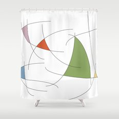 favorable wind Shower Curtain