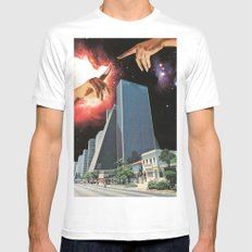 The Coming Of The Celestials Mens Fitted Tee MEDIUM White