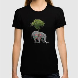 Abstract Elephant T-shirt