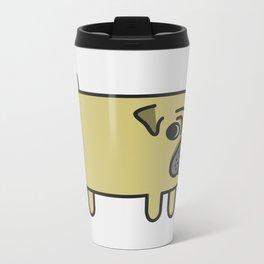 1# I like big pugs Metal Travel Mug