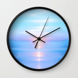 Sea of Love III Wall Clock