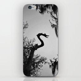 Dragon Shaped Tree iPhone Skin
