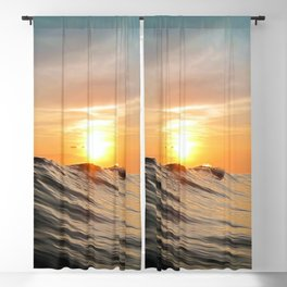 Sunset in Paradise Blackout Curtain